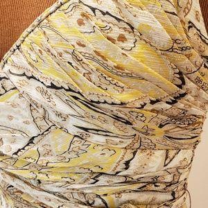 BCBGMaxAzria Tops - BCBG V-Neck Strappy Silk Top from Nordstrom